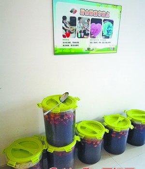 机关食堂分出来的厨余垃圾,在发酵成环保酵素。