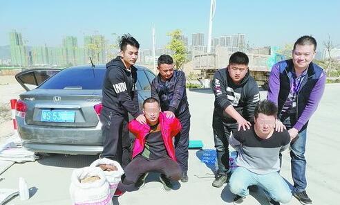 诈骗团伙成员被民警抓获