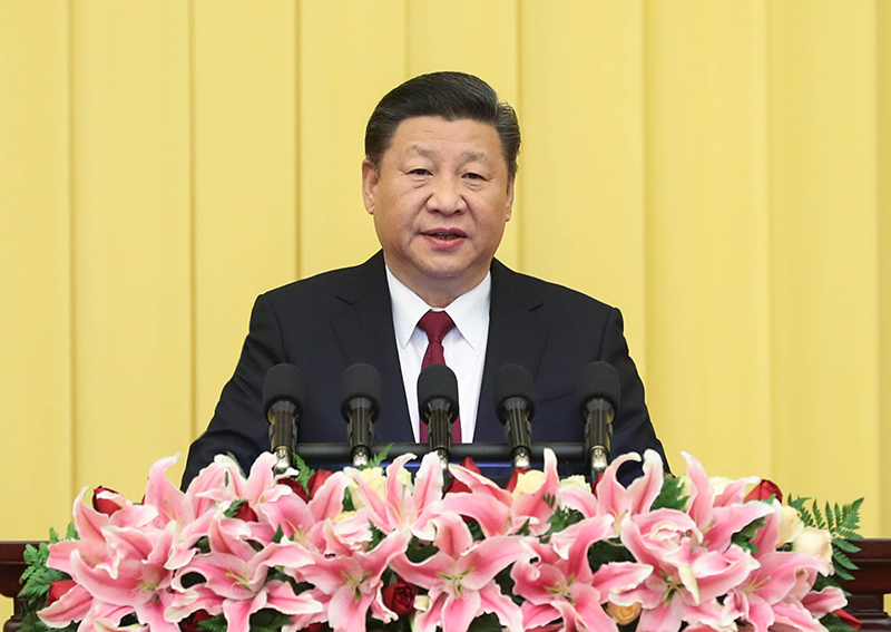 12月29日,全国政协在北京举行新年茶话会。中共中央总书记、国家主席、中央军委主席习近平在茶话会上发表重要讲话。
