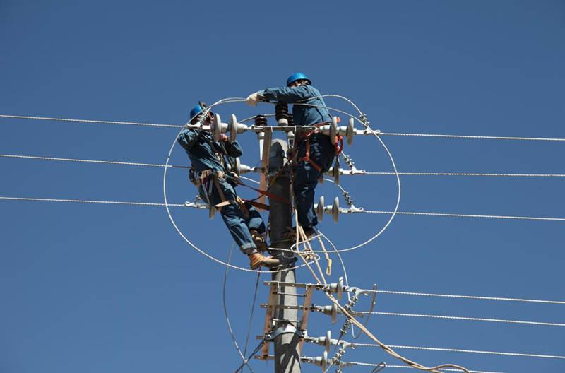 (圖為農網改造現場,國家電網內蒙古東部電力有限公司提供,王東玲攝)
