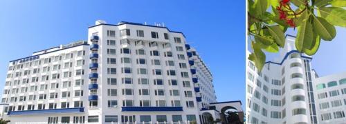位于屏东车城乡的垦丁泊逸度假酒店因不堪亏损,宣布6日起歇业。