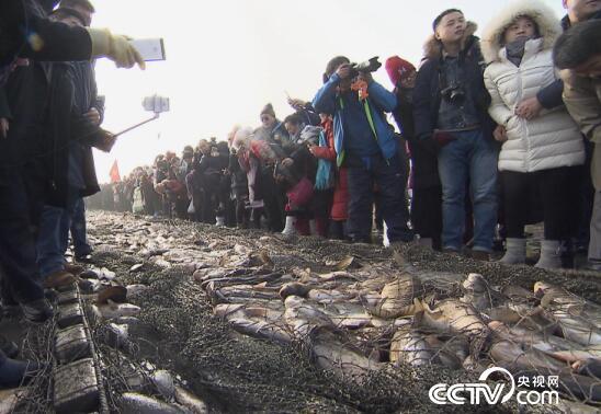 美丽中国乡村行:查干湖冬捕 1月9日