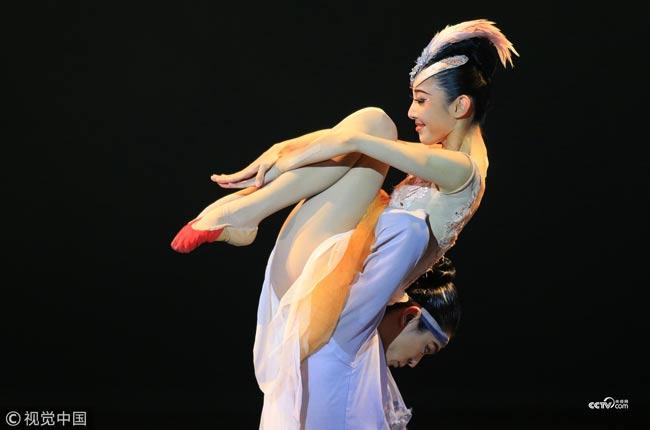 Chinese dance drama featuring rare bird of