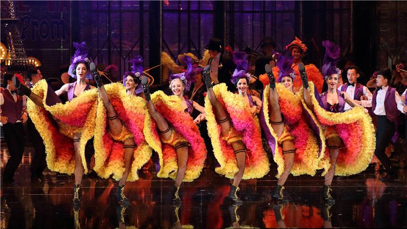 2017年1月,国家大剧院制作轻歌剧《风流寡妇》首轮演出剧照