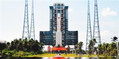 2016年11月,长征五号在海南文昌发射场成功首飞