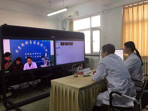 航天中心医院眼科主任凌宇远程门诊坐诊