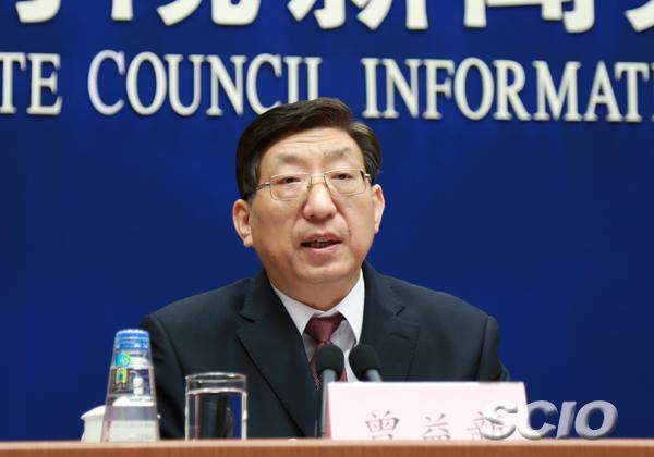 国家卫生计生委副主任曾益新(刘健 摄)