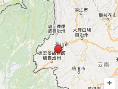云南保山市隆阳区发生3.1级地震