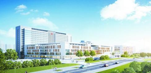 马銮湾医院效果图,医院计划2021年建成。