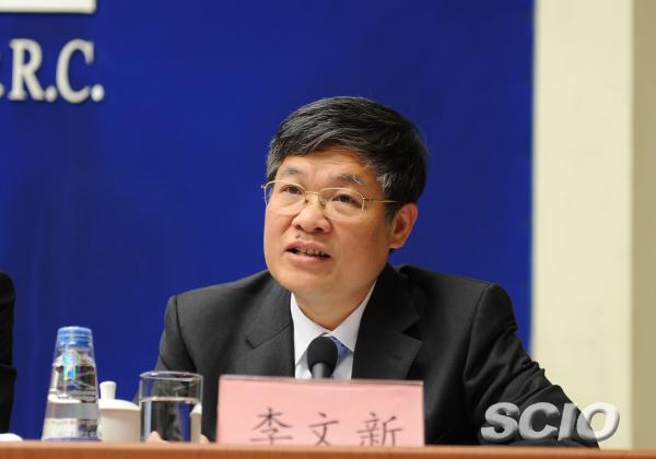 铁路总公司副总经理李文新(栾海军 摄)