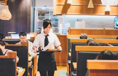 图为台湾餐饮店内景。图片来源于台媒
