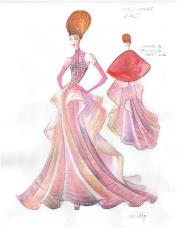 古典优雅的礼服