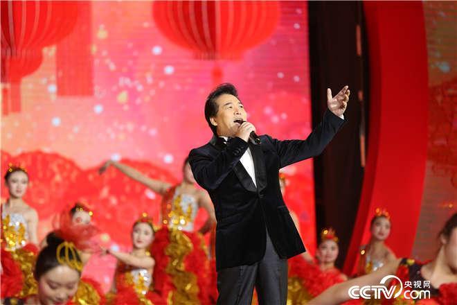 佟铁鑫演唱歌曲《吉祥中国》
