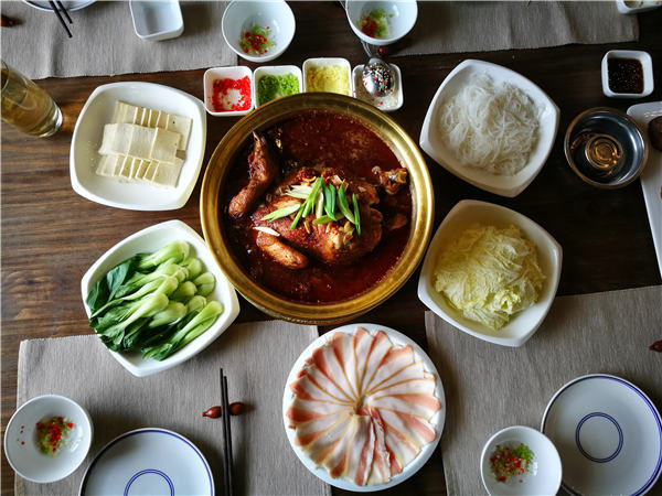 Marshal chicken hotpot, named after Marshal Chen Yi (1900-72), one of the nation