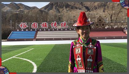全国政协委员、肃南县裕固族自治县第一中学教师贺颖春