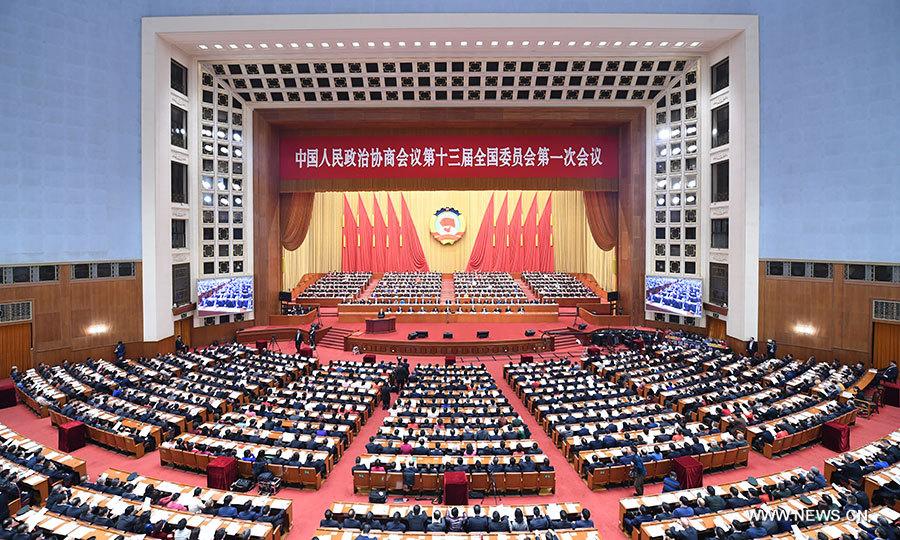 Chine : ouverture de la session annuelle de l