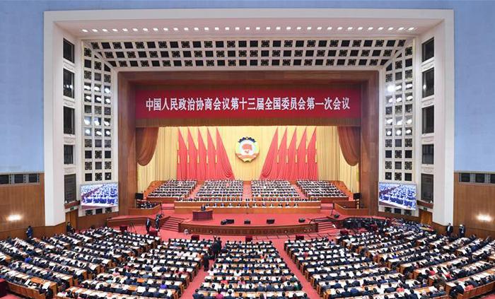中国人民政治协商会议第十三届全国委员会提案委员会关于政协十三届二次会议提案审查情况的报告