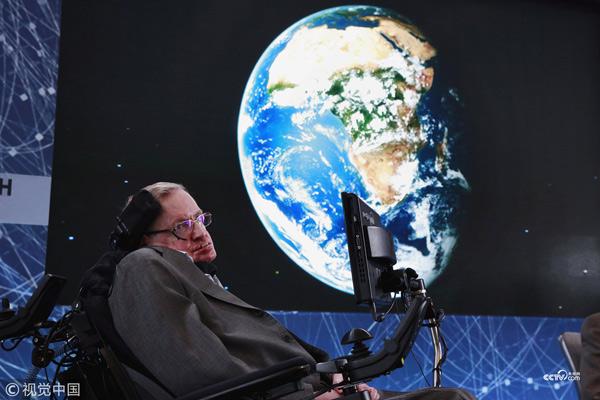 File photo: British physicist Stephen Hawking