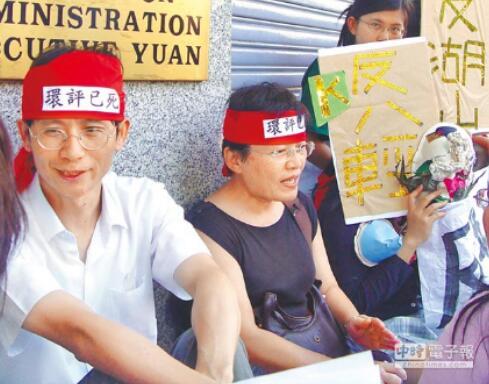 詹顺贵昔日投入环保诉讼,还曾发文批台中火力发电厂是一大污染源。(图片来源:台湾《中时电子报》)