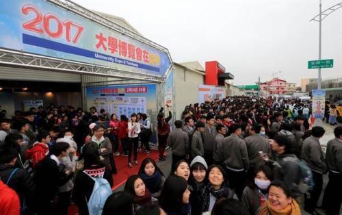 受台湾高教大环境影响,岛内越来越多的优秀学子选择赴陆就学