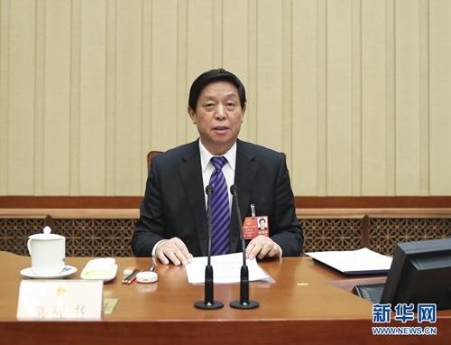 十三届全国人大一次会议主席团举行第九次会议