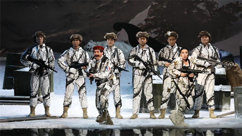 国家大剧院制作歌剧《军中女郎》首度亮相舞台
