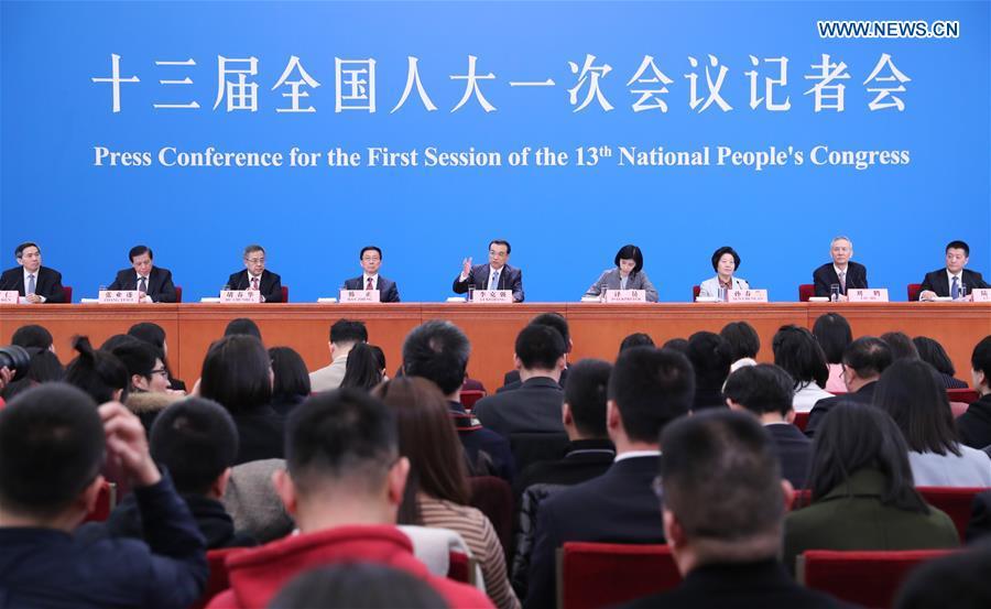 Conférence de presse du Premier ministre chinois