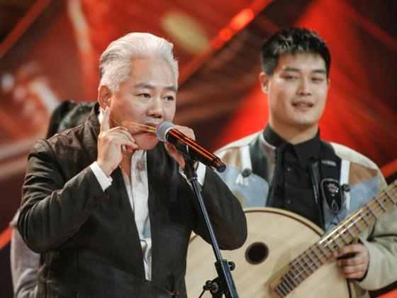 [传说中女娲时期的乐器 在《国乐大典》奏出非凡音效