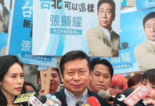 国民党台北市长初选开打,张显耀抛重塑台北中心新轴线。