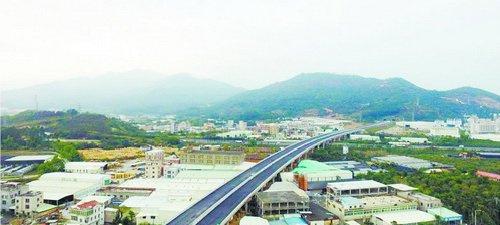 国道324线(凤南-角美段)改线工程海沧段完成92%