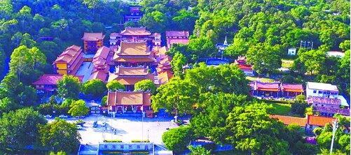 壮观的同安梵天寺