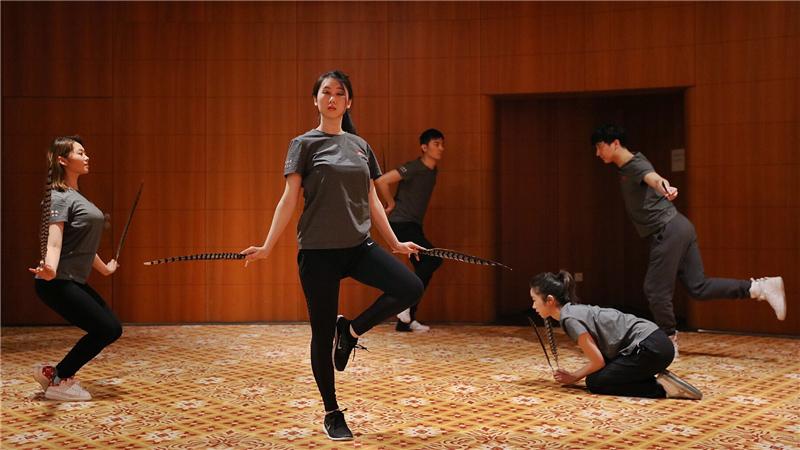 此次新制作阿里斯托芬喜剧《鸟》,是国家大剧院对古希腊戏剧制作的初次尝试肖一/摄