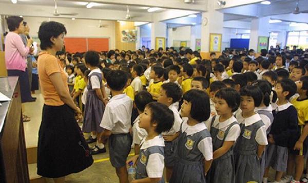 资料图:近日有香港团体调查显示,香港6至8岁儿童快乐程度下降。