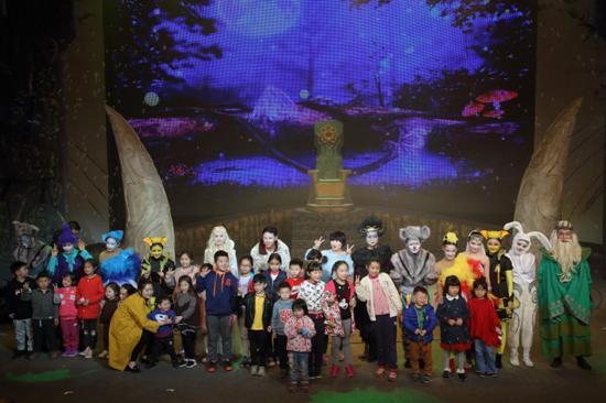 家长也能看的儿童剧《梦境奇遇》成都上演一票难求