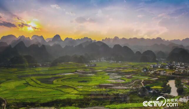 美丽中国乡村行:绿水青山中村庄的美丽故事 4月9日