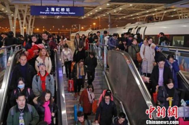 ↑资料图:上海虹桥站