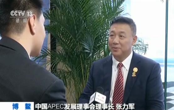 中国APEC发展理事会理事长 张力军
