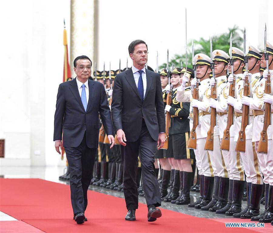 La Chine et les Pays-Bas convenus d
