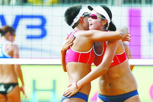 全运会冠军王凡将搭档世巡赛最年轻冠军夏欣怡。