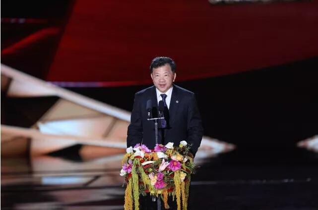 中宣部副部长、中央广播电视总台台长、第八届北京国际电影节组委会主席慎海雄宣布本届电影节开幕