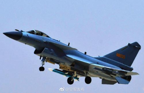 图片来源:中国空军官方微博。图:刘川 席博博