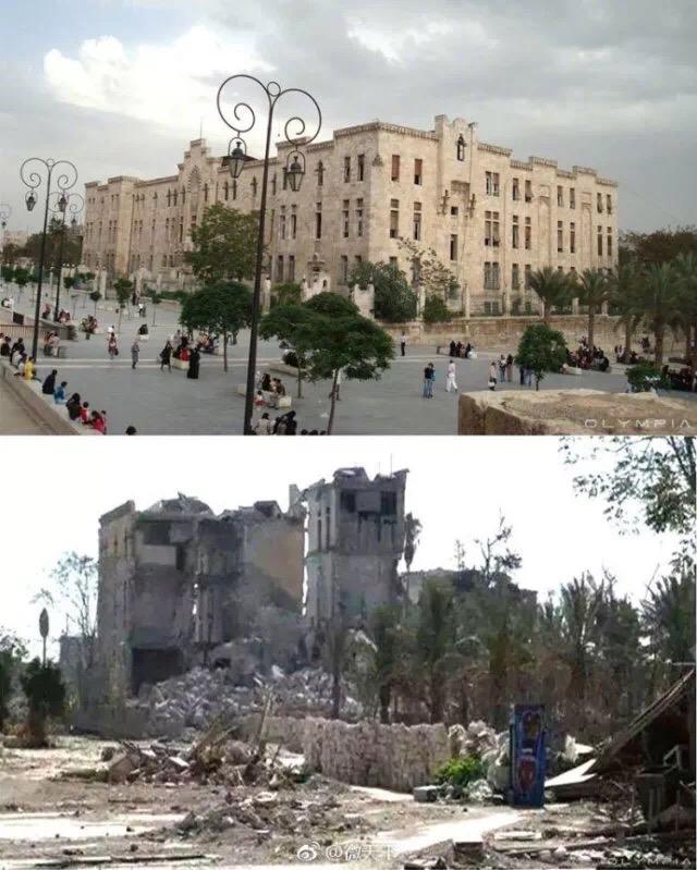 △叙利亚战争前后变化