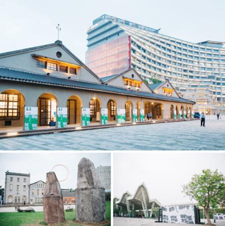 2018台湾文博会三个核心展区。图片来源:台湾文博会官网。