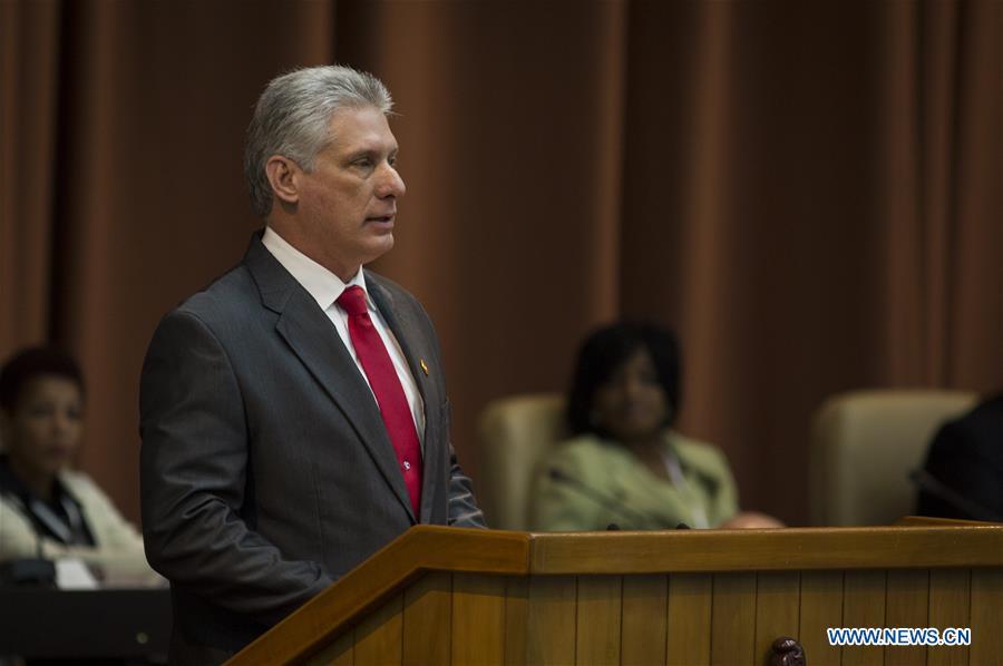 Cuba : Miguel Diaz-Canel élu président et promet la continuité du socialisme