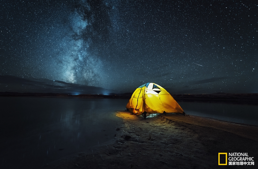 地貌夜空风景素材