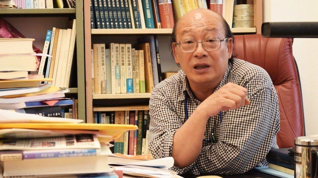 台大法律系教授李茂生