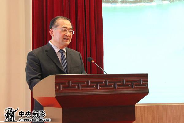 中国潍坊(峡山)金风筝国际微电影大赛组委会常务副主席、潍坊市人民政府副市长马清民
