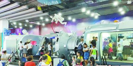 """""""五一""""小长假,诚毅科技探索中心游客量增幅高达372.1%。"""