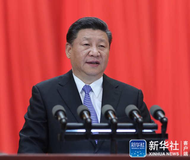 ↑5月4日,纪念马克思诞辰200周年大会在北京人民大会堂隆重举行。中共中央总书记、国家主席、中央军委主席习近平在大会上发表重要讲话。新华社记者 鞠鹏 摄