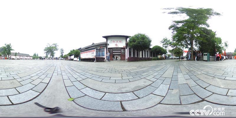 什邡市师古镇红豆村,汶川地震后成功走上产业转型道路,获评全国文明村。(何川/摄)